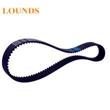 HTD390-5M-15 зубы 78 ширина 15 мм длина 390 мм HTD5M 390 5 м 15 дуговые зубья промышленный резиновый зубчатый ремень, 5 шт./лот