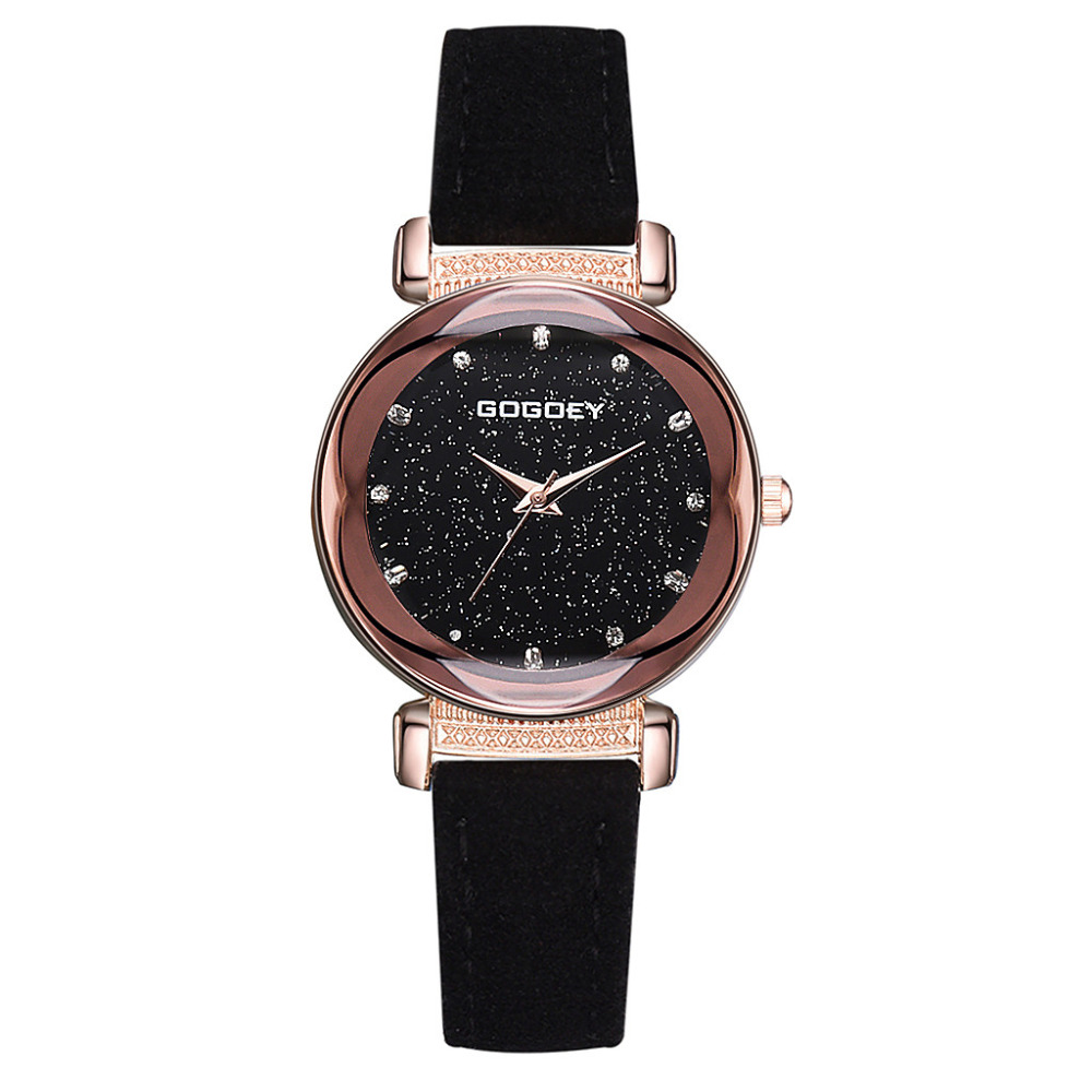 Bracelet Watch Numeral-Scale Starry Quartz Ladied Fashion Without Simple -4a30 Dial