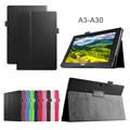 Ultra Slim Litchi Grain 2-Folding Folio Stand PU Leather Skin Protective Cover Case For Acer Iconia Tab 10 A3-A30 A3 A30 Tablet
