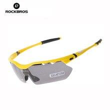 0dd40c6514 RockBros los polarizado gafas ciclismo hombres ciclismo bicicleta pescar  conducir gafas de sol UV gafas de protecc.