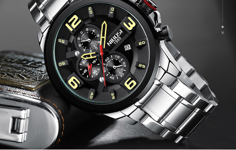 Relogio Masculino NIBOSI Watch Men Waterproof Luxury Brand 2018 Men Watches Stainless Steel Chronograph Wrist Watch Montre Homme (19)