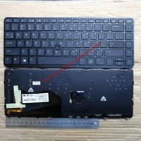 US new laptop keyboard for HP EliteBook 740 745 G2 840 750 755 850 736654 001 G1 English black