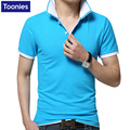 Hot 8 Colors Summer Polo Shirt Solid Color Lapel Camisa Polo Cotton Breathable Shirts Short Sleeve Slim Top Brand Men's Clothing