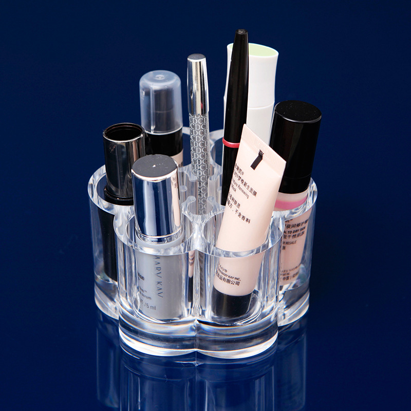Cosmetic Crystal Storage Box Desktop Small Items Plastic Storage Box Jewelry Cosmetics Small Items Makeup storage box