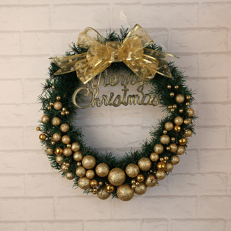 1pc artificial flower xmas wreath door decorative wedding for 3 wreath door decoration