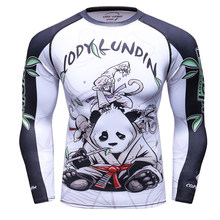 2018 3D impresión Gyms compresión camiseta hombres elástico Skinny  Bodybuilding Casual hombres camisetas Crossfit secado rápido 474e60b3d8c9a