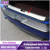 JGRT Car Styling For Civic 2016 2017 Model High Quality Stainless Steel Internal Rear Guard Cover