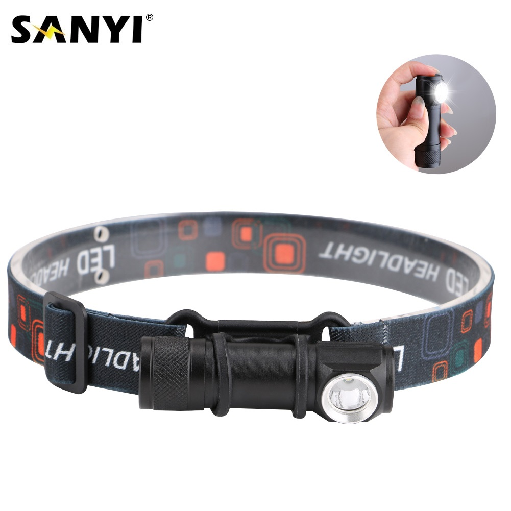 USB Rechargeable Headlamp Headlight LED Flashlight Head Torch Portable Lanterna 3 Mode Magnetic Work Light For Night Fishing-in Headlamps from Lights & Lighting