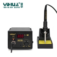 YIHUA 937D 220V Digital LED Display Soldering Station Constant Temperature Antistatic Rework Stations