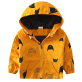 Hooded Children's Jackets 18M-8Y Kids Coats Boys Bomber Jacket Spring Autumn Baby Boys Windbreaker Boys Outerwears New SC221