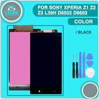 New Z1 Z2 Z3 LCD Touch Screen For Sony Xperia Z1 Z2 Z3 L39H D6502 D6603