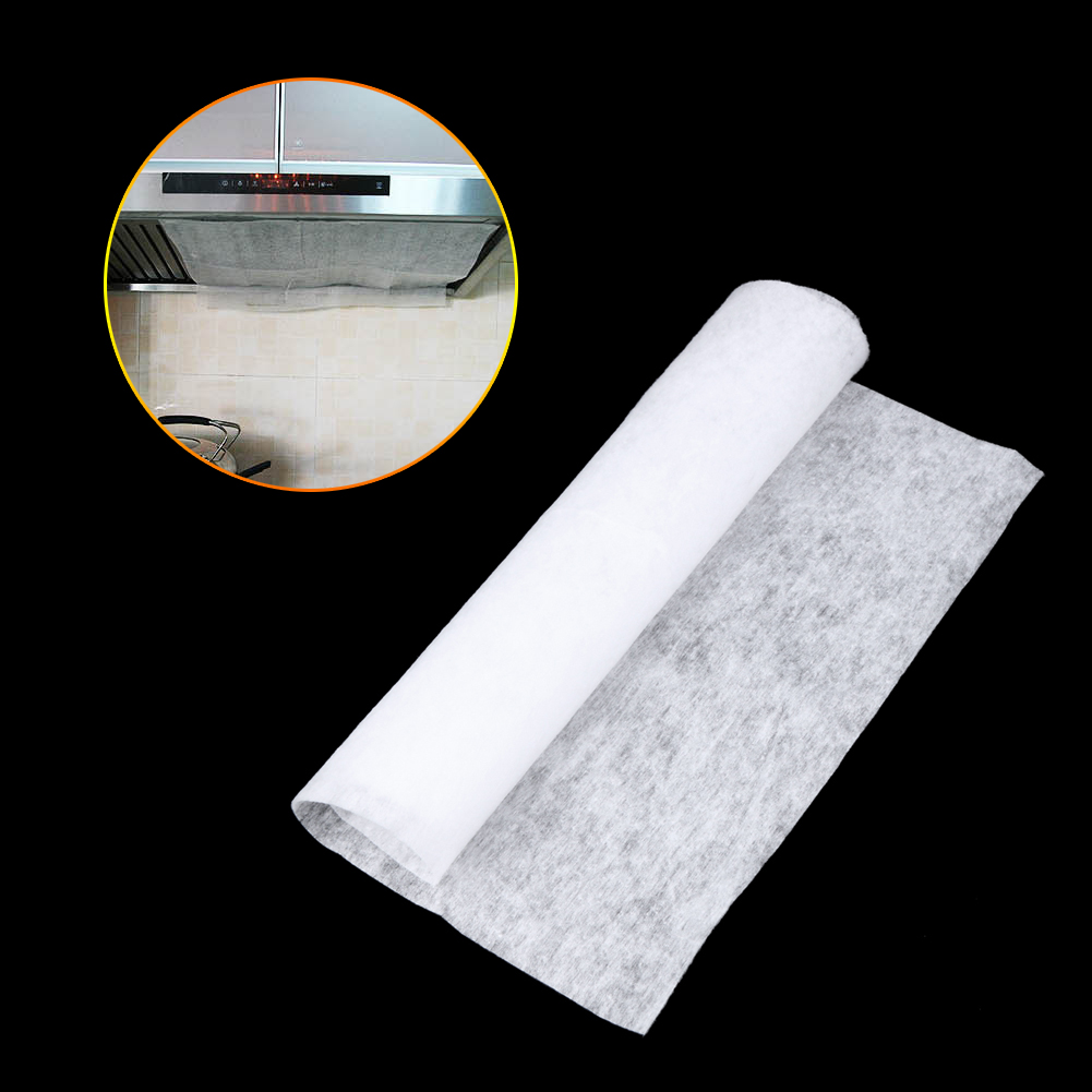 Clean Cooking Nonwoven Range Hood Grease Filter Kitchen Supplies ...