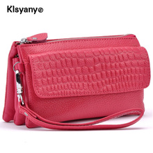 Klsyanyo real Leather Small Women Messenger Bags Handbags Cross Body Bag Ladies Shoulder bag evening bags clutch ladies purse