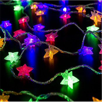 10M 100LED Garland Outdoor Star String Lights Christmas Xmas Decoration Wedding party LED