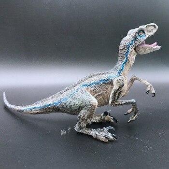 NIEUWE hot 22 cm x 5 cm x 9 cm Blauw Velociraptor Jurassic World Fallen Koninkrijk Jurassic Park 5 action figuur speelgoed kerstcadeau zlj2