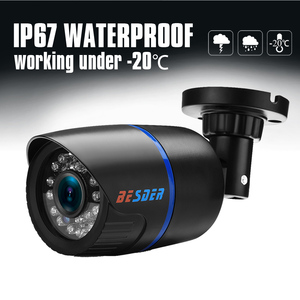 Image 4 - BESDER AHD אנלוגי בחדות גבוהה מעקב אינפרא אדום מצלמה 720P AHD CCTV מצלמה אבטחה חיצוני Bullet מצלמות