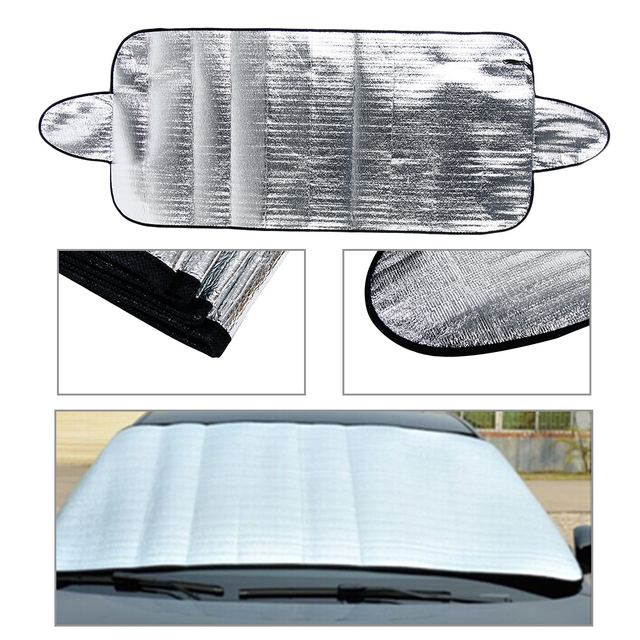 1PC 150 * 70cm Car Windshield Protector Anti Snow Frost Ice Dust Shield Sun Shade Cover Hand Tools Machine Tools & Accessories