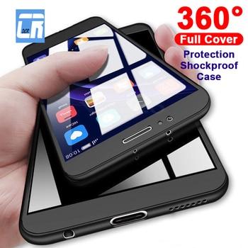 360 grados de protección completa a prueba de golpes funda dura para Xiaomi 8 6X cubierta Redmi 5 Plus 6 6A 6 Pro Note 5A Prime S2 fundas Shell Coque