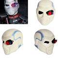 XCOSER Suicide Squad Deadshot Helmet Full Head COSplay Hero Halloween Mask Props