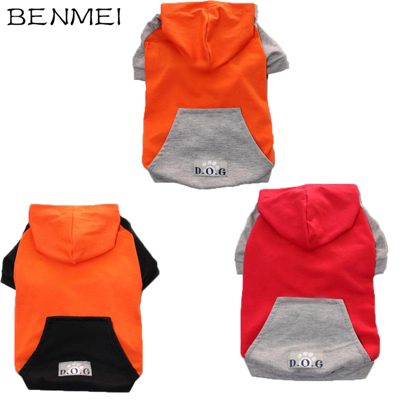 BENMEI Pet Clothes For Dog Sweatshirt Hoodies For Big Dog With Hoody French Bulldog Pet Clothes Coat Jacket Costumes 8 Sizes