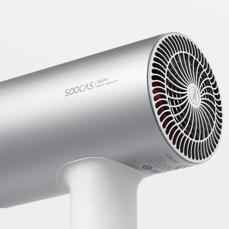 Image 4 - Xiaomi Mijia Soocas H3 Anion Hair Dryer Aluminum Alloy Body 1800W Air Outlet Anti Hot Innovative Diversion Design-in Hair Dryers from Home Appliances