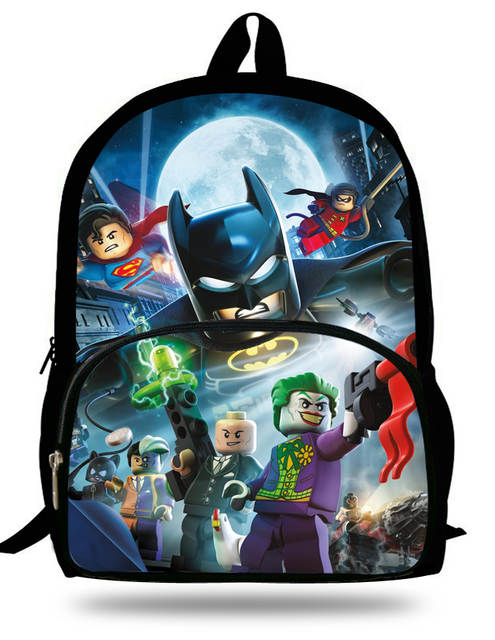 Online Shop 16-inch Children Backpacks School Batman Bags For Boys Casual Kids  School Bags For Teenagers Aged 7-13 Primary Scholar Backpack