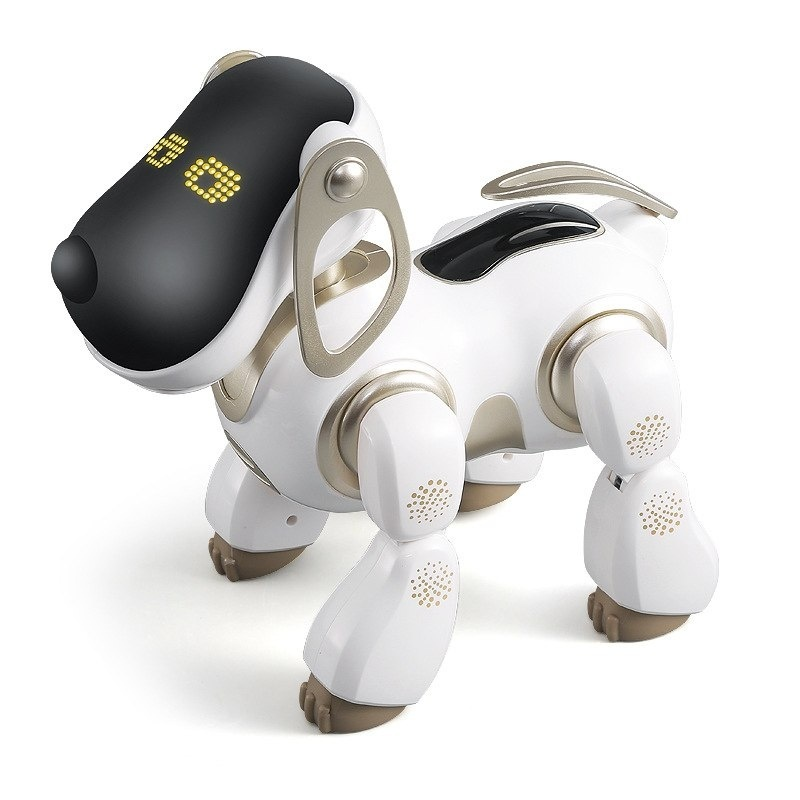 New Childrens Intelligent Electric Dog Toy Will Walk To Talk Tail With Light Shake Head Sing Educational Toys