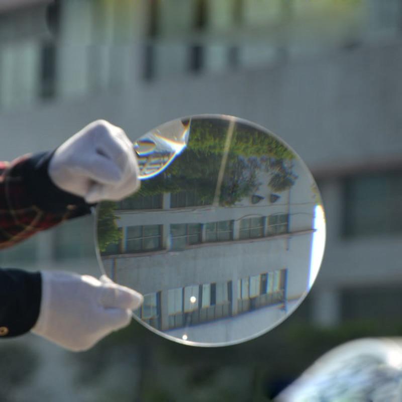 plástico solar fresnel condensador lente distância focal 290mm plano lupa, lupa solar