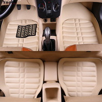 Auto car carpet foot floor mats For ford fusion 2008 fiesta 2007 2009 focus mk3 s max kuga 2008 mk7 explorer transit car mats