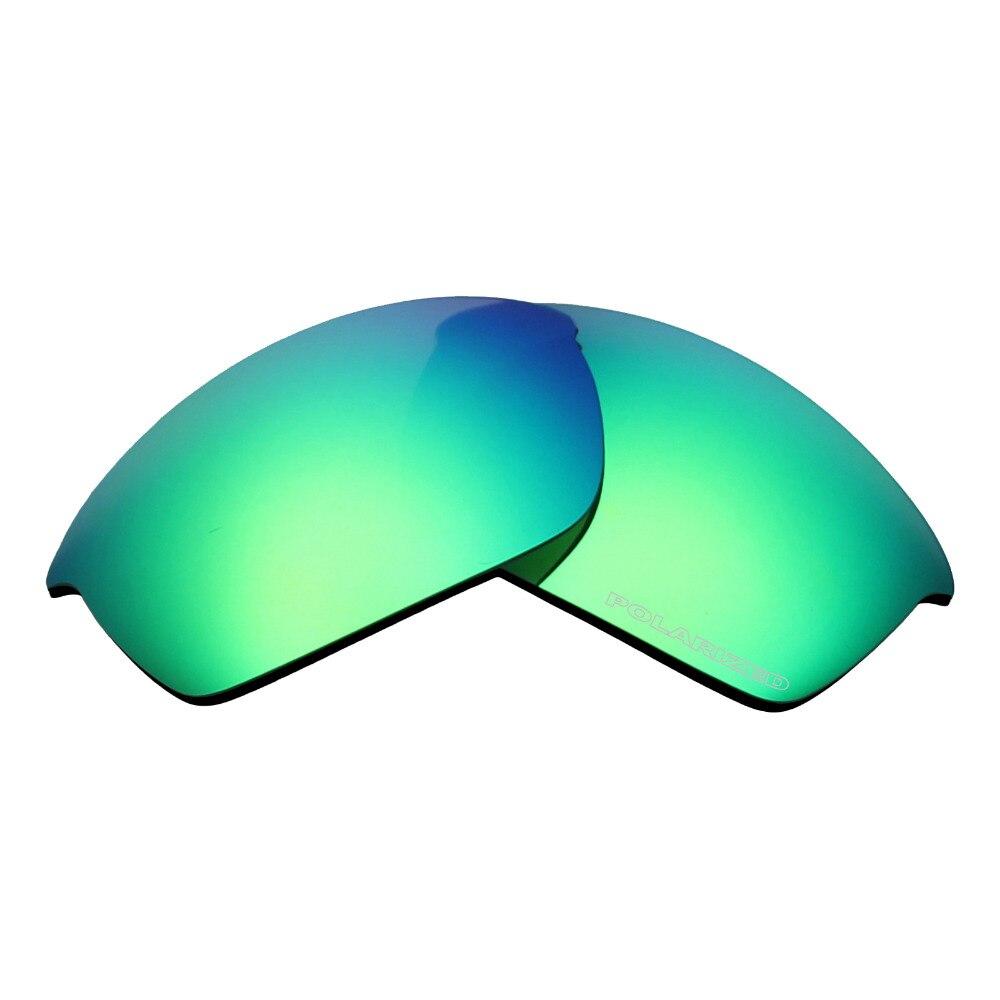 a7c45e82f6b2 Mryok+ POLARIZED Resist SeaWater Replacement Lenses for Oakley Flak Jacket  Sunglasses Emerald Green
