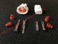 5 комплектов Sumitomo MT090 2-контактный женский мужской белый авто разъем водонепроницаемый Автомобильный штекер мотоцикла 6180-2181 6187-2171