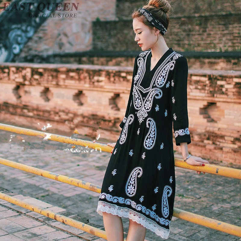 3a478407311 ... Women Boho chic mexican dress hippie ethnic style dress clothing  bohemian holiday beach female sexy dresses ...