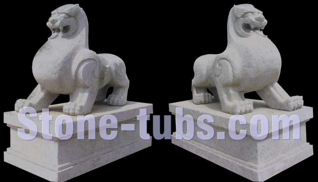 Granite Animals Sculpture Dog Garden Statues Abstract Sculpture