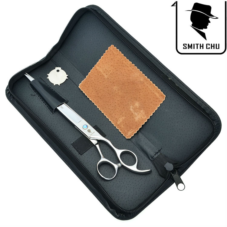 Lzs0040 Dutiful 8.0 Professional Pet Cutting Scissors Dog Cat Barber Grooming Shears Blue Rhinestone Jp440c Styling Tools Hair Care & Styling