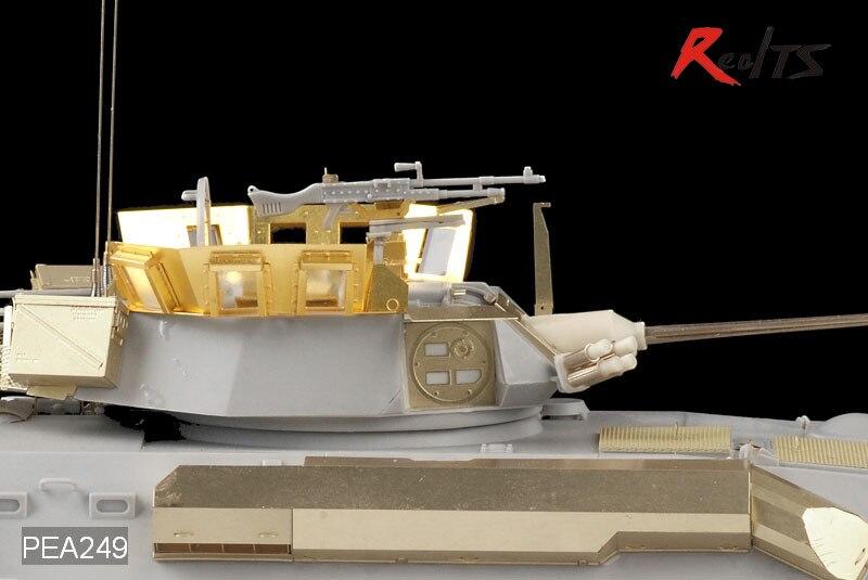 RealTS Voyager PEA249 1/35 Modern USMC LAV-25 Turret Blast Shield (For TRUMPETER)