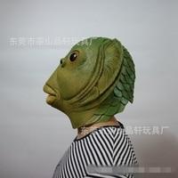 fish mask alien halloween mask latex funny masque halloween