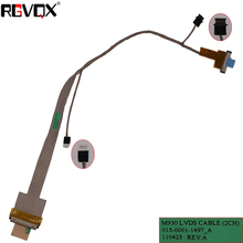 NEW Laptop Cable For SONY VPCF12 VPCF F1 F1390 F11M1E F12AF F115FM M930 16.4 PN:015-0001-1497_A Repair Notebook LED LVDS CABLE