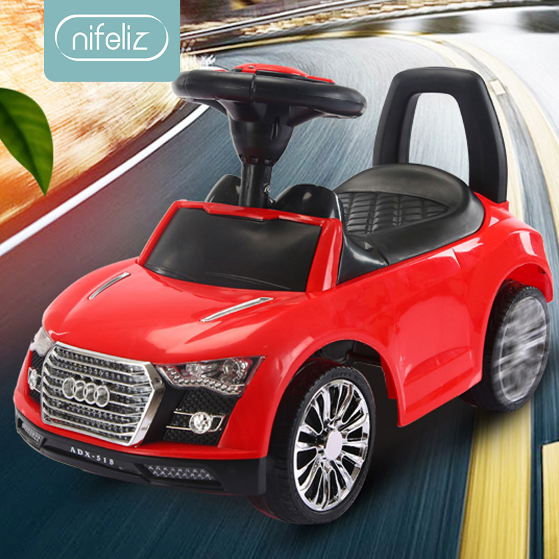 Multi function Children Twist Car 1 3 Years Old Baby Slide Yo Car with Music Hand Push Bar Guardrail Toy Stroller