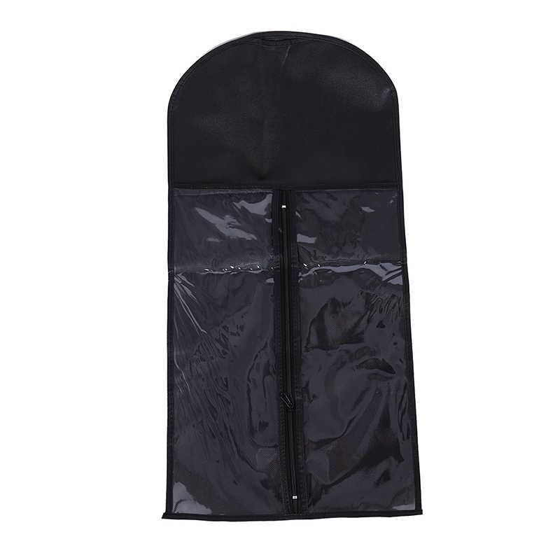 Paquete de caja con gancho metálico para extensiones de cabello virgen bolsa de almacenamiento traje no tejido trama de cabello y Clip en extensión de cabello