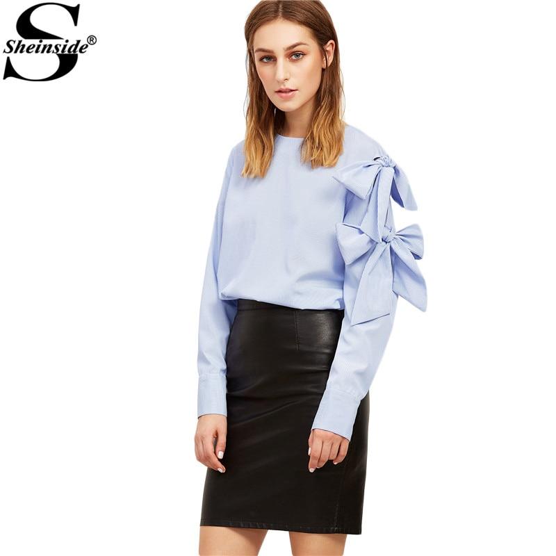 93f1835f5 Sheinside Mujeres Camisa de La Blusa de Estilo Suelto Nueva Llegada ...