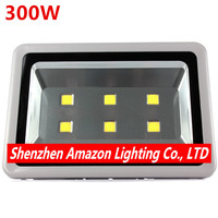 4pcs 300W Led Floodlight AC85 265V Warm/Natural/Cold Outdoor lighting Led Reflector Flood light Waterproof Outside Street lamp