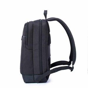 Image 3 - 100% Оригинальные Классические деловые рюкзаки Xiaomi, вместительная Студенческая сумка, дорожная школьная сумка для ноутбука Macbook air 12,5 13,3