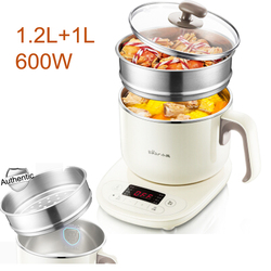 15% JA26,1.2L Multifunction Electric Multi Cooker Steam+stew  Hot Pot Cooker 9h Reservation with Smart Touch Panel 8  Menus