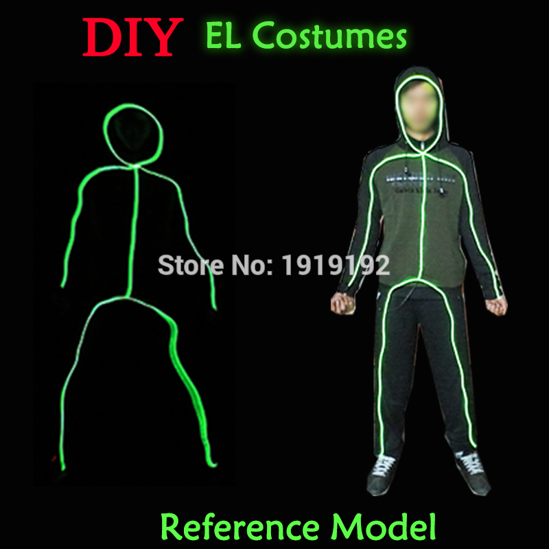 2019 Hot Sales DIY Festival party clothes accessories by the Style of Matchstick Men by DC-3V Button Driver for 10 Color Select2019 Hot Sales DIY Festival party clothes accessories by the Style of Matchstick Men by DC-3V Button Driver for 10 Color Select