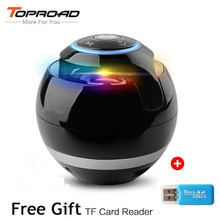 Toproad Bluetooth Speaker Receiver Boombox FM Radio Portable Caixa De Som Amplifier MP3 Subwoofer Speaker With Mic Loudspeaker