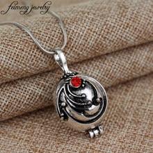 Popular filme vampiro diários colar elena gilbert verbena romântico cristal pingente colar para feminino charme jóias