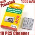1000mAh NB-4L NB4L NB 4L Battery for Canon IXUS 50 55 60 65 80 75 100 I20 110 115 120 130 IS 117 220 225 230 255 HS SD780 SD960