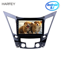 Harfey 9 GPS Navigation system For 2011 2015 HYUNDAI Sonata i40 i45 Android 8.1 Car Stereo Multimedia Player with WIFI USB Aux