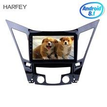 """Harfey 9 """"sistema di Navigazione GPS Per 2011-2015 HYUNDAI Sonata i40 i45 Android 8.1 Car Stereo Multimedia Player con WIFI USB Aux"""