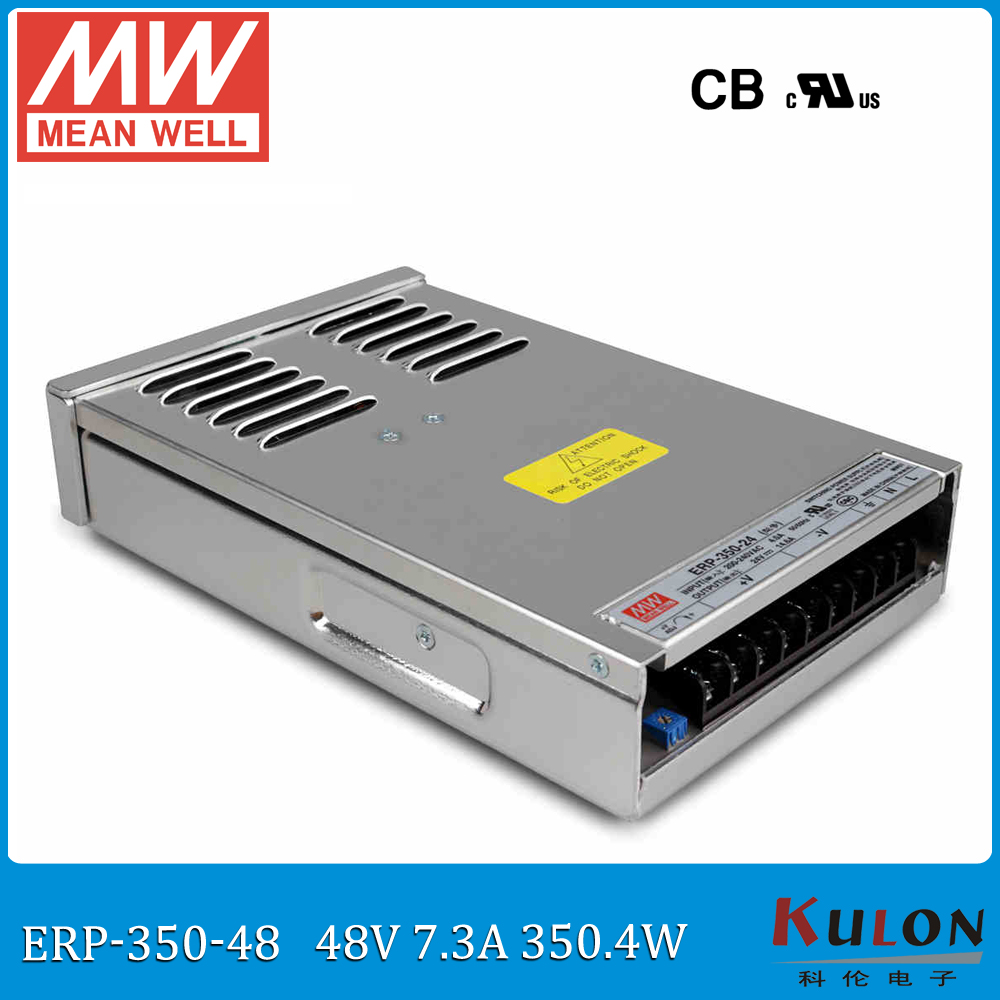 Original Meanwell ERP-350-48 input 220VAC to 48VDC transformer 350W 7.3A 48V rainproof power supply for LED signage displayOriginal Meanwell ERP-350-48 input 220VAC to 48VDC transformer 350W 7.3A 48V rainproof power supply for LED signage display